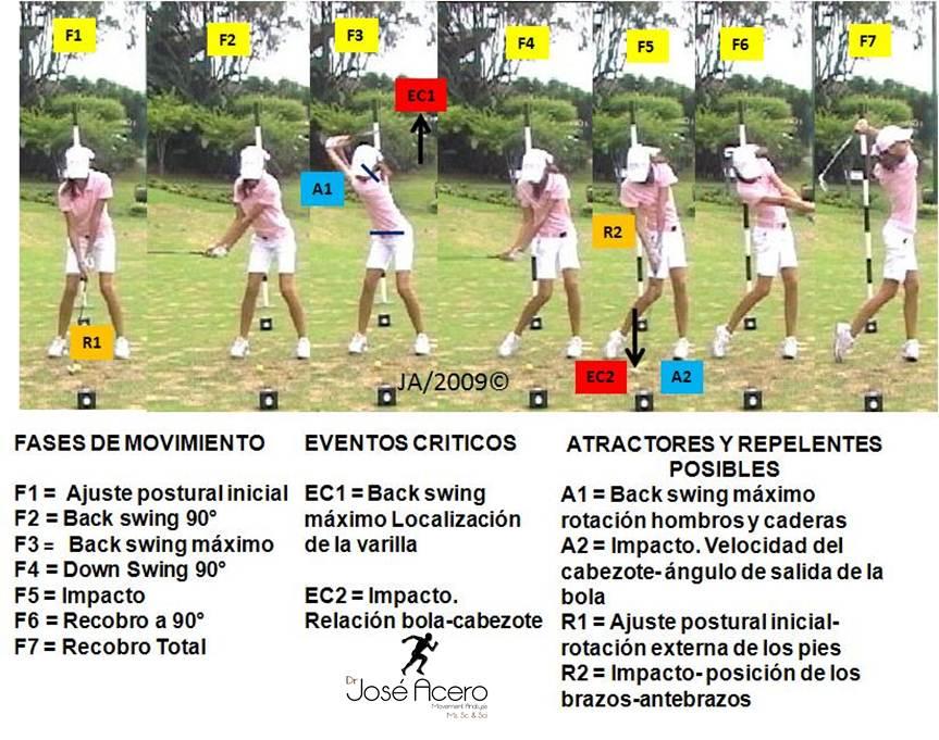 Lujoso Anatomía Del Swing De Golf Friso - Imágenes de Anatomía ...