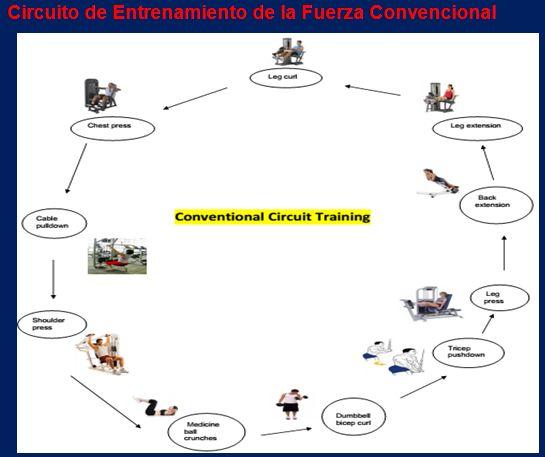 Circuito Fuerza Resistencia : Efectos del entrenamiento funcional vs en